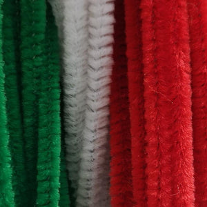 Chenilles - Chenilles - Christmas Colours