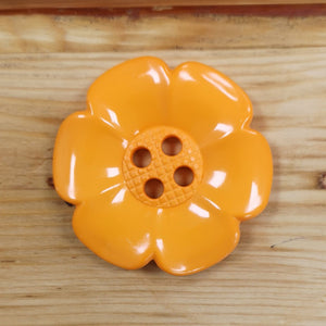 Chunky Flower Button