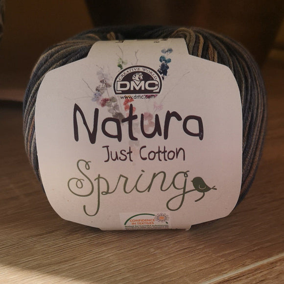 Cotton Yarn - DMC Natura Just Cotton Spring Variegated
