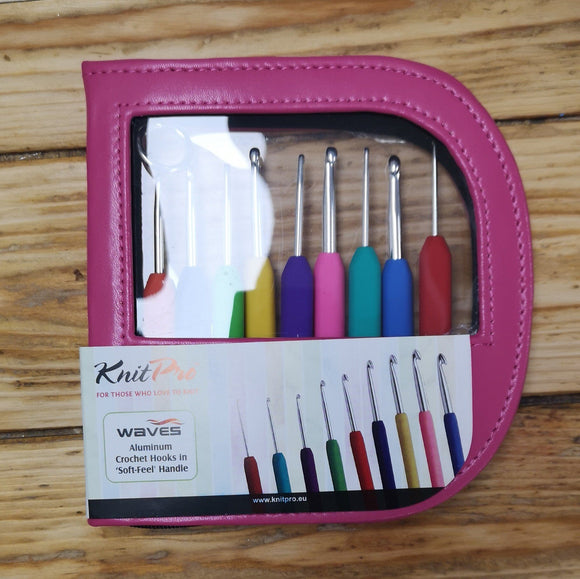 Crochet Hooks - KnitPro Waves Crochet Hooks - Set
