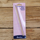 Fabric Marker - Dressmaker's Water Soluble Pencil
