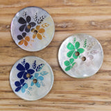 Flower Design Shell - Buttons