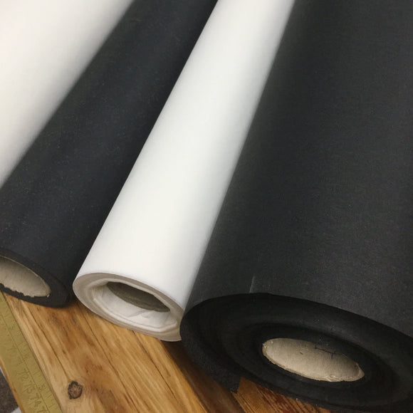 Lightweight Interfacing Black And white