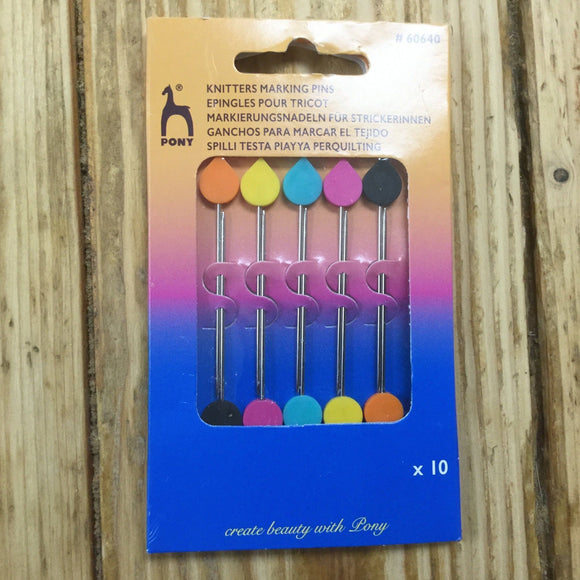 Knitting Marker Pins - Pony Marking Pins