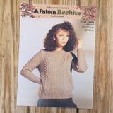 Knitting Pattern: Double Knitting - Patons Beehive Shetland Chunky 7723