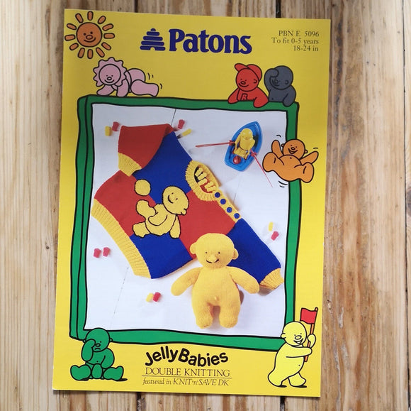 Knitting Pattern: Double Knitting - Patons (DK) 5096