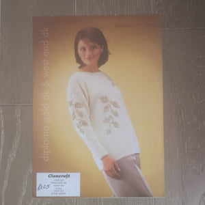 Knitting Pattern: Double Knitting - Patons DK PBN D 2418