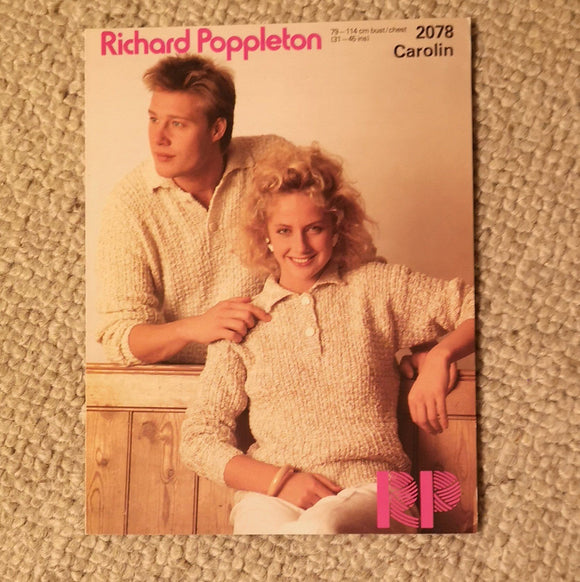 Knitting Pattern: Double Knitting - Richard Poppleton Carolin DK 2078