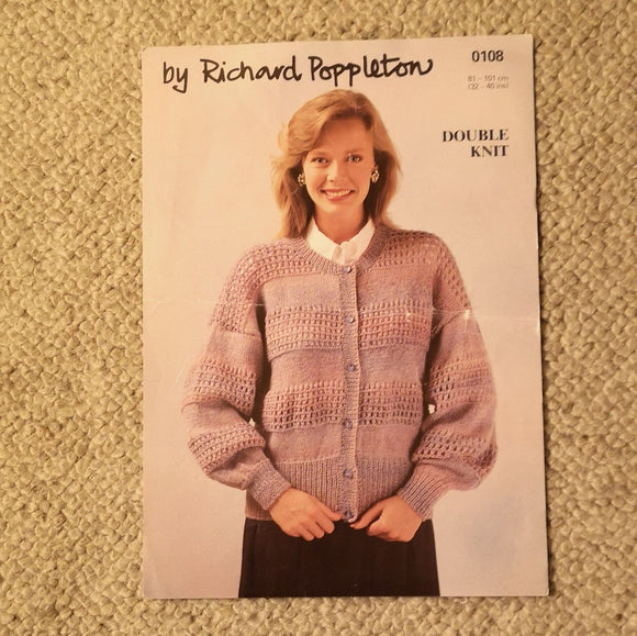 Knitting Pattern: Double Knitting - Richard Poppleton DK 0108