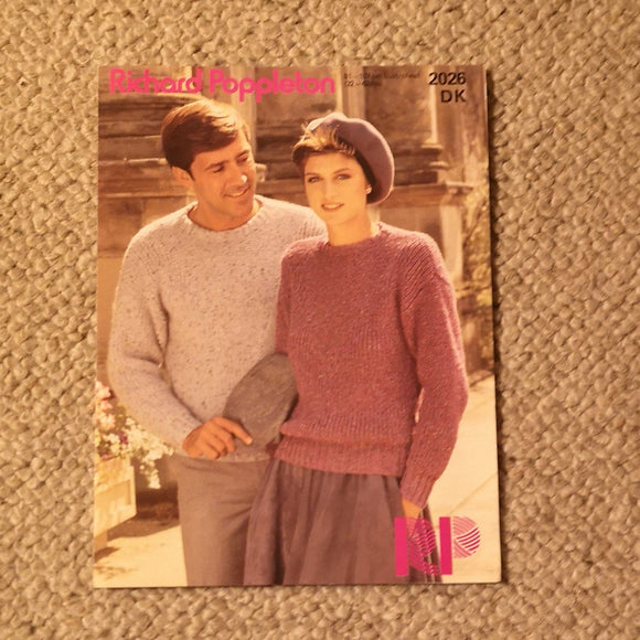 Knitting Pattern: Double Knitting - Richard Poppleton DK 2026