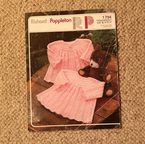 Knitting Pattern: Double Knitting - Richard Poppleton Fragrant DK Or 4 Ply 1794