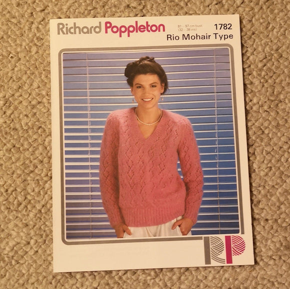 Knitting Pattern: Double Knitting - Richard Poppleton Rio Mohair 1782