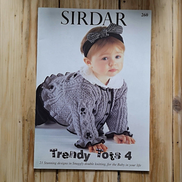 Knitting - Sirdar Knitting Pattern Booklet 260
