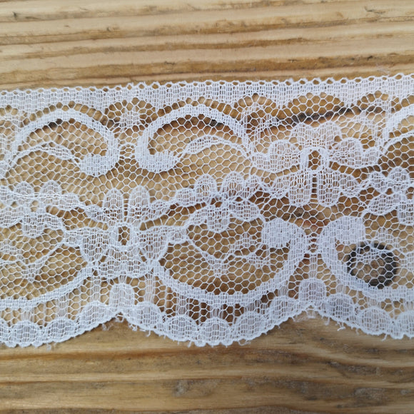 Lace with flower pattern