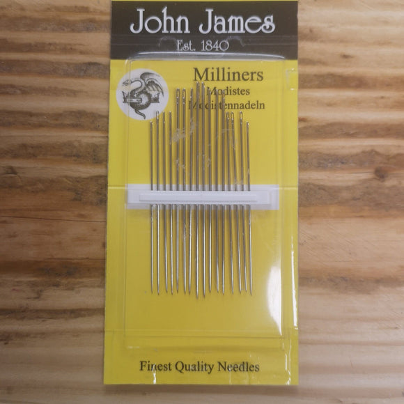 Milliners Needles 5/10 - John James
