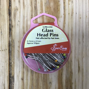 Pins - Super Long Glass Head Pins