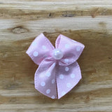 Ribbon Bows - Bows With Pearl Centre