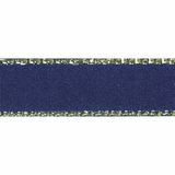 Ribbon - Gold Edge Satin Ribbon