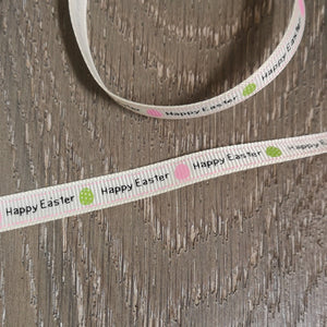 "Ribbon - ""Happy Easter"" Ribbon"