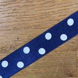 Ribbon - Polkadot Satin Ribbon