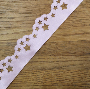 Ribbon - Scatter Star Ribbon Pink (400)