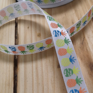 Ribbon - Tropical Pineapple Ribbon