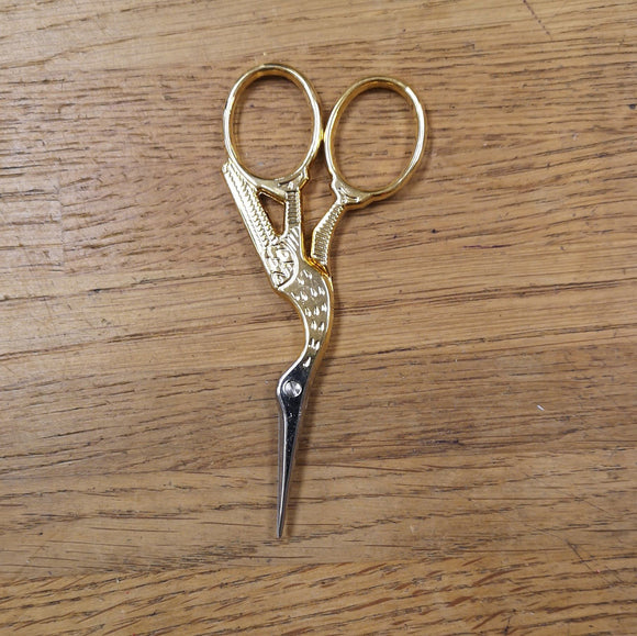 Scissors - Stork Embroidery Scissors