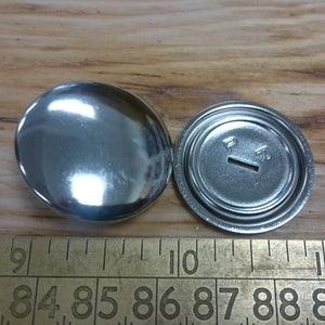 Self Cover Buttons - Metal