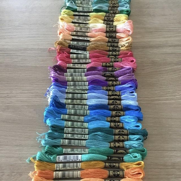Stranded Thread - DMC Stranded Threads - 3801 To 3866