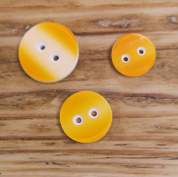 Two-tone Button - Semi-concave Face
