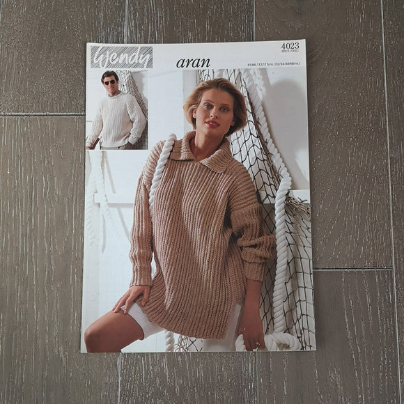 Wendy Knitting Pattern - Wendy Aran 4023