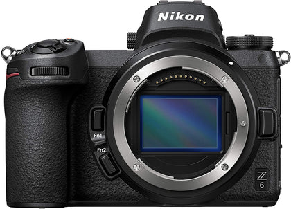Nikon Z6 Mirrorless Camera 4K Video with Nikkor Z 24-70mm Lens