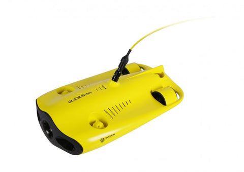 Chasing Gladius Mini-size Underwater Drone with 100ft Tether