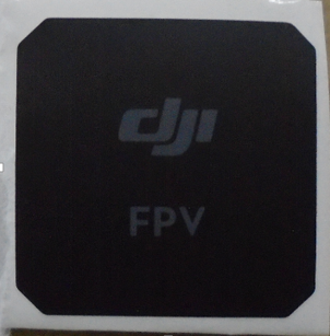 DJI FPV GPS Sticker