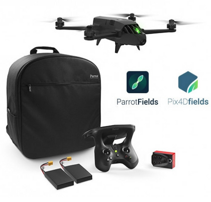 Parrot Bluegrass Fields Agricultural Quadcopter Enterprise