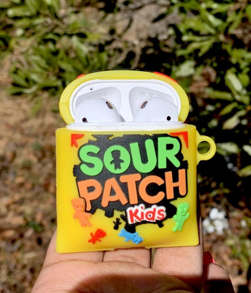 Sour Patch Kids AirPod Case - Yellow