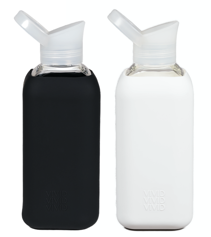 Yin and Yang - black and white - 850ml bundle