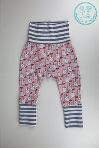Pantalons évolutifs - Chats licornes / Grow with me pants - Caticorns