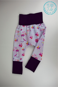 Pantalons évolutifs - Licornes / Grow with me pants - Unicorns