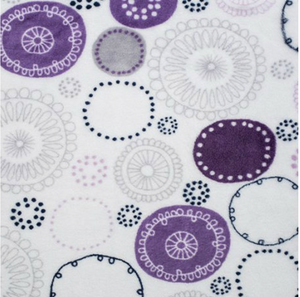 Tablier de bain - Cercles mauves - Bath Apron - Fireworks