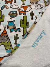 Charger l'image dans la galerie, Tablier de bain - Cactus et renards - Bath Apron - Cactus and Fox