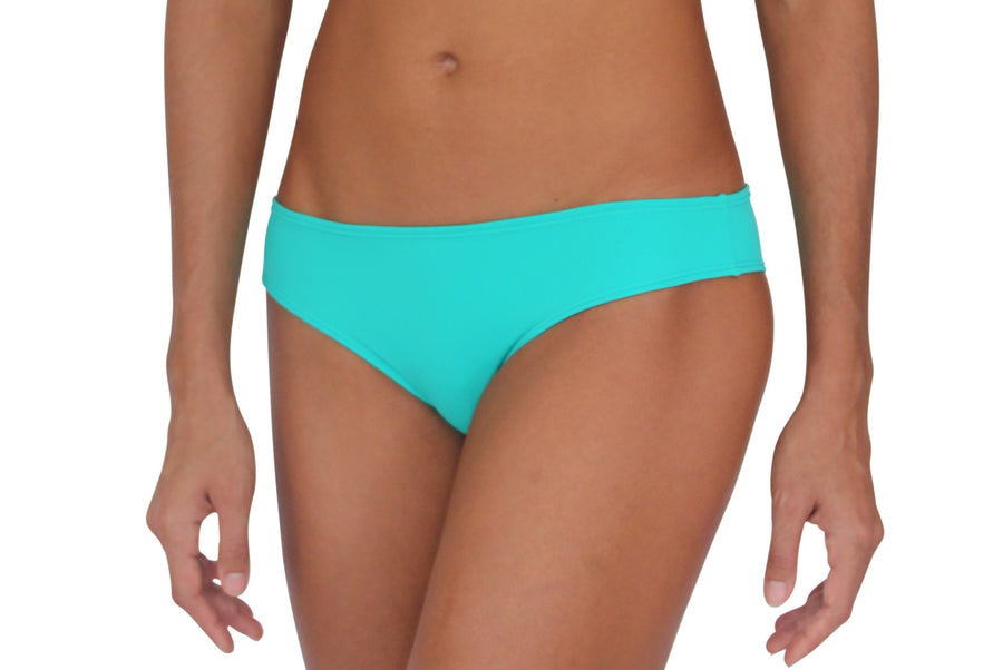 Scrunch Bootie Sea Green Solid