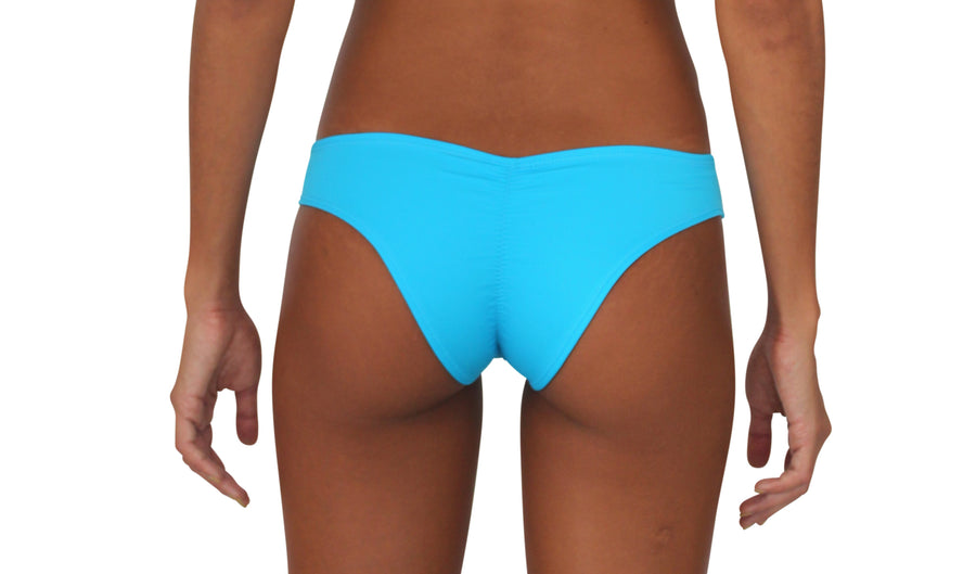 Scrunch Bootie Electric Blue Solid