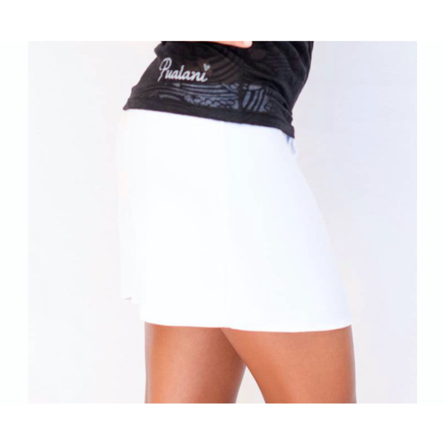 Drawstring Skirt White