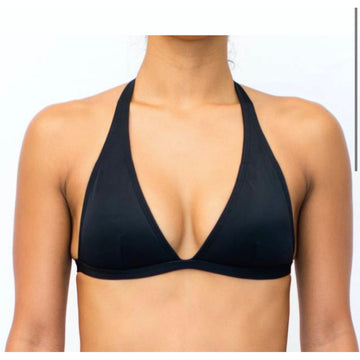 Halter Black Solid