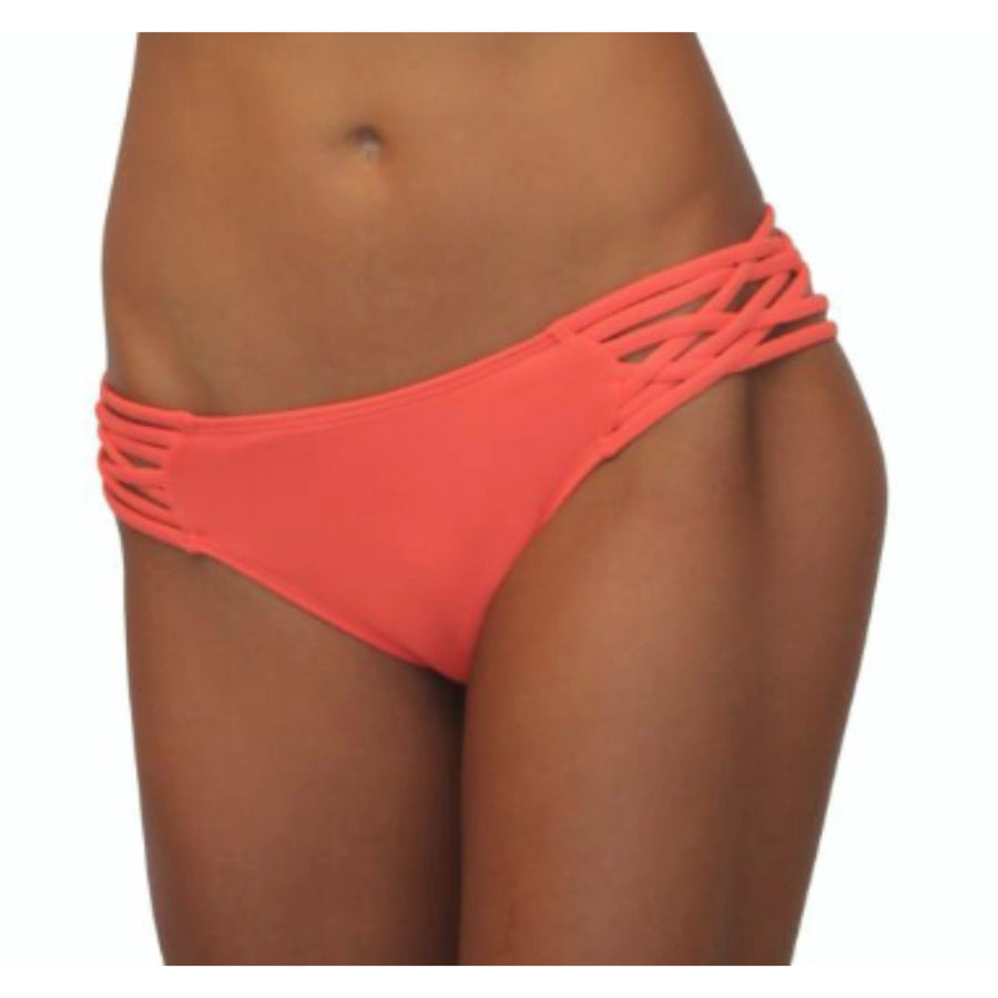 Scoop w/ String Sides Coral Solid