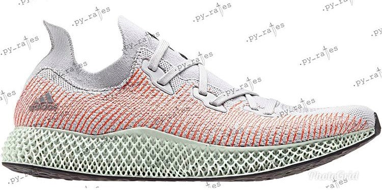 separation shoes 78ced 26b6f Adidas AlphaEdge 4D WC Futurecraft Grey Two White Linen Green BB7717 2    Zadehkicks