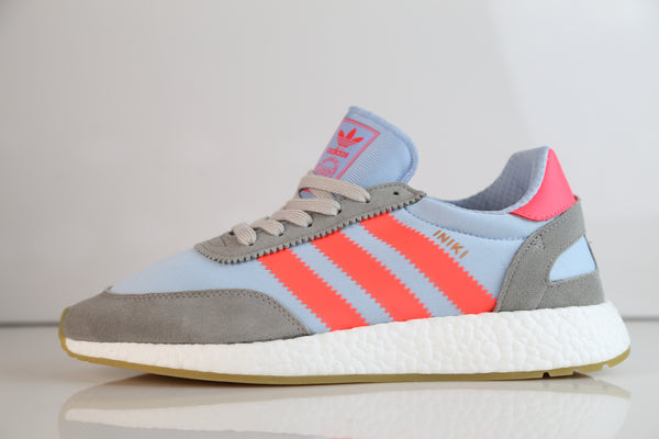 Adidas Boost Iniki Runner Grey Turbo Gum BB2098