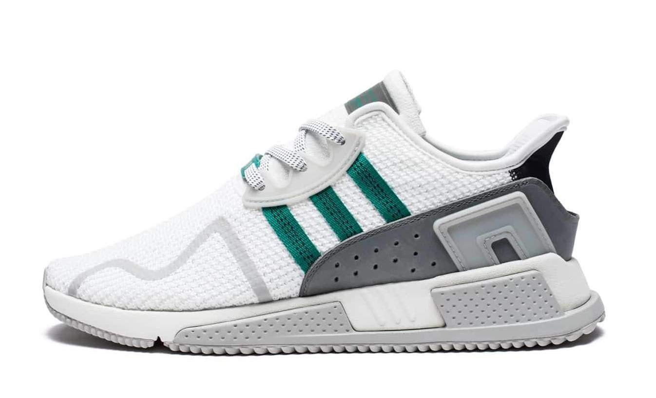 outlet store aefed 94d93 Adidas EQT Cushion ADV White Green Black CP9458  Zadehkicks