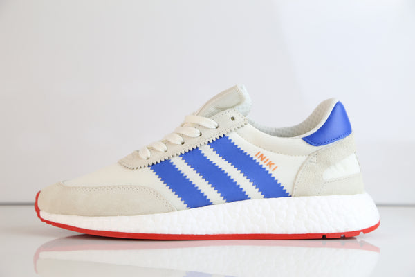 Adidas Boost Iniki Runner White Blue Red BB2093